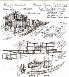 Sketches By Http Www Behance Net Gallery Architectural