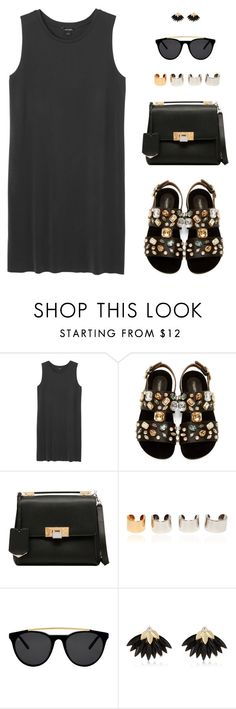 """Senza titolo #391"" by anthy ❤ liked on Polyvore featuring Monki, Dolce&Gabbana, Balenciaga, Maison Margiela, Smoke & Mirrors and River Island"
