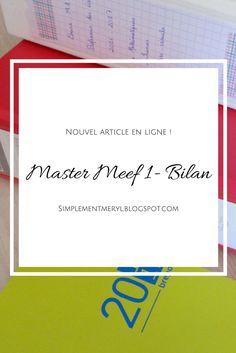 Le Master MEEF est-il bien ? Je fais un bilan de mon année ! http://simplementmeryl.blogspot.fr/2017/07/premiere-annee-de-master-meef.html#more
