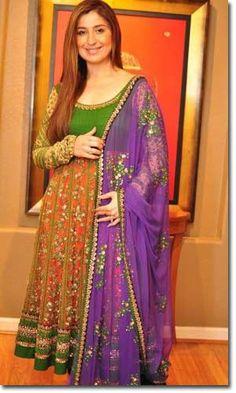Indian girl clothes on Pinterest | Churidar, Anarkali and ... Sabyasachi Anarkali Suits Collection 2013