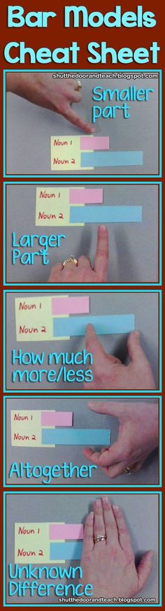 All Things Upper Elementary: Math in Focus: Bar Models with Manipulatives Fourth Grade Math, Second Grade Math, Third Grade, Teaching Math, Teaching Tips, Math In Focus, Bar Model, Eureka Math, Singapore Math