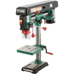 Grizzly Drill Press, Working Area, Metal Working, Technical Documentation, Angle Drill, Key Storage, Thing 1, Iron Table, Work Lights