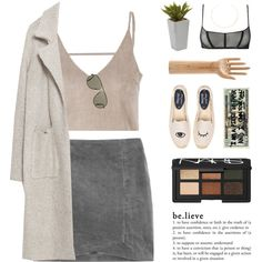 Stone Tones | Maison Close Collaboration by starit on Polyvore featuring Zara, Maison Close, Soludos, Gorjana, Tom Ford, Nearly…