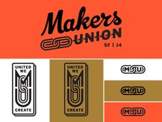 Makers Union Logo Concept Iteration