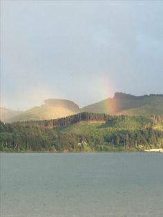 Rainbow Nehalem Bay Oregon.