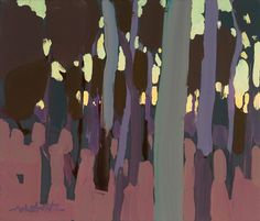 Michael White Art I love the emphasis of negative space Tree Forest, Australian Artists, Negative Space, White Art, Landscape Art, Forests, Trunks, Paintings, Ideas