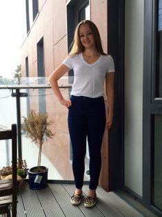 Blue Stretch Denim Mia Jeans