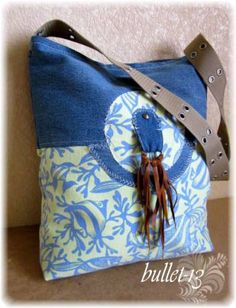 5 denim bags - no problems with the link!