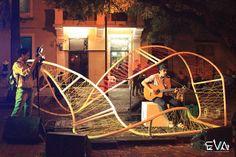 #EVA 2013 #ARTE #ESPACIO #VIVENCIAL #DISENO #DESIGN #ARCHITECTURE #ART #TEMPORARY #PVC #STRING #RECYCLING #ORGANIC #PUCMM