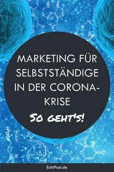 Neben KMU leiden gerade Solo-Selbstständige und Freelancer besonders unter der Corona-Krise und sehen ihre Existenz bedroht. Umso wichtiger ist es, jetzt nicht den Kopf in den Sand zu stecken und potenzielle Kunden und Geschäftspartner weiterhin auf sich aufmerksam zu machen. Aber wie kann Marketing in der Corona-Krise für Selbstständige konkret aussehen? Wir geben dir praxisrelevante Beispiele und Tipps dazu! #krisenmarketing #corona #coronakrise #covid-19 #selbstständige #solo-selbstständige Salon Business, Leiden, Marketing, Corona, Tips, Calendar