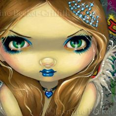 Faces of Faery #92   Art by Jasmine Becket-Griffith