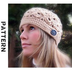 Crochet hat pattern. see @Jodi Hill if we learn how to crochet we can make cute stuff like this!!! let's doooo it!!!! ;)