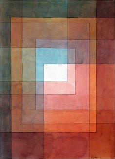 Paul Klee - polyphon gefasstes Weiss