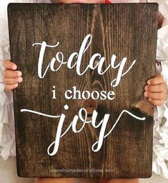 Cool Today I Choose Joy,Sign,Wood Sign,Home Decor,Christian Home Decor,Wall Art,Scripture Wall Art,For The Home,Religious and Inspiration Wall The post Today I Choose Joy,Sign,Wo ..