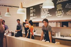 Ice Cream Shop in Canada styled with the Eikon lighting