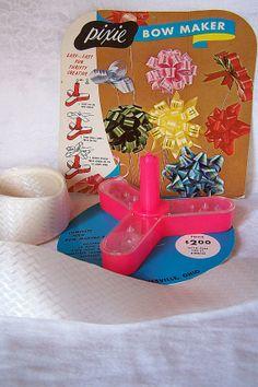 Vintage Pink Pixie Bow Maker