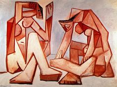 PABLO-PICASSO-TWO-WOMEN-ON-THE-BEACH.JPG 800×594 pixels