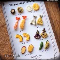 * 天ぷらのフレームシリーズを作り直しました! * 衣を付けると、食材が見えなくて残念だなぁ〜と考えた末… * 食材→天ぷらと並べることに♪ * うん!良いんじゃないでしょうか(๑•̀ㅂ•́)و✧ * こちらは3月の作品展にて販売致しますm(_ _)m * #ミニチュア#ミニチュアフード#ハンドメイド#手作り#雑貨#スマイル#粘土#フェイクフード#食品サンプル#Miniature#Miniaturefood#Japanesefood#smile#Handmade#Fake#Fakefood#Clay#Craft#kawaii#天ぷら#Tempura #天婦羅#フレーム