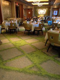 Interface Urban Retreat- dining room at All Seasons Senior Living in Birmingham, MI