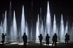 Sou Fujimoto Architects' atmospheric Forest of Light installation for Milan's Salone del Mobile is captured here...