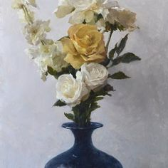 Michael Klein, Yellow Rose. Find this and other fine art at CuratorsEye.com.