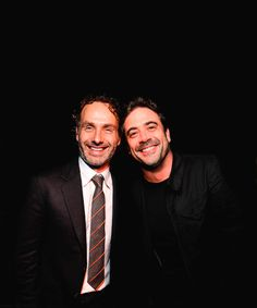 Andrew Lincoln & Jeffrey Dean Morgan