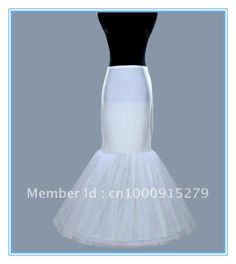One Hoop Lycra Waistband Fishtail Mermaid Cocktail Bridal Petticoat Underskirt on AliExpress.com. $21.99