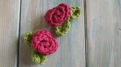 HappyBerry Crochet - Mini Roses - YouTube