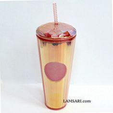 Cold Drinks, Iridescent, Starbucks, Tumbler, Mugs, Bottle, Cool Drinks, Drinkware, Tumblers