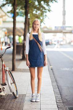 fab denim tunic Frederika. Stockholm.