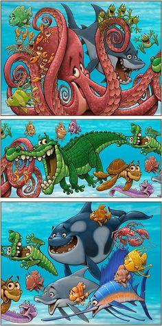Dennis Jones nursery wall art