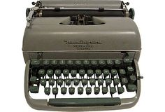 Midcentury Remington Typewriter on OneKingsLane.com