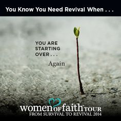 You Are Starting Over...Again