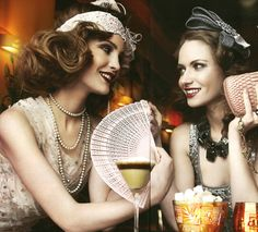 Thus, the Roaring Twenties redefined womanhood — a new woman evolved; it became more acceptable to smoke and drink in public, closer body contact in dancing, shorter hair, make-up, different styles of dress, and greater participation in the workforce - all contributed to the new woman.