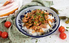 15 szaftos husi, amit mindenki imád | Mindmegette.hu Jamie Oliver, Meat Recipes, Mozzarella, Oreo, Curry, Lunch, Chicken, Ethnic Recipes, Food