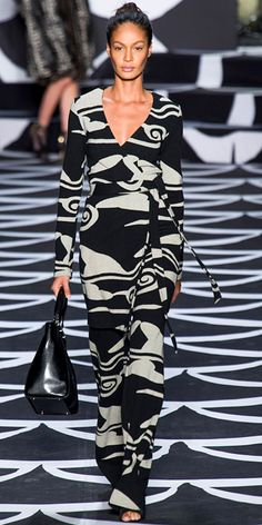 Runway Looks We Love: Diane von Furstenberg - Diane von Furstenberg from #InStyle
