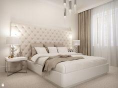 """Sypialnia """"Sweet Dream"""" - zdjęcie od wnetrza24.com - Sypialnia - Styl Glamour - wnetrza24.com"""