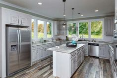 I want windows like this in my kitchen