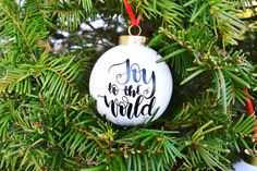 6 Easy Creative DIY Christmas Ornaments Makeovers for Cheap