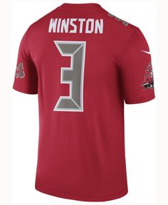 Nike Men's Jameis Winston Tampa Bay Buccaneers Legend Color Rush Jersey