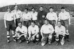 Team GB Football team at the 1936 Olympic Games in Berlin
