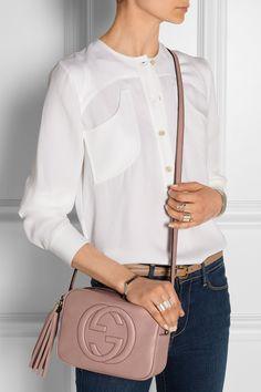 Gucci|Soho Disco leather shoulder bag|NET-A-PORTER.COM