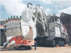 Big Beco.The 1st Orenstein & Koppel RH400 front shovel from 1997.950 tons & 53 yards