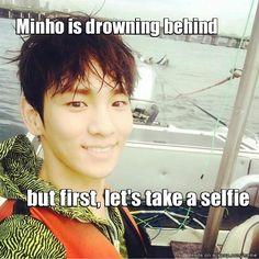 Key's selfie...