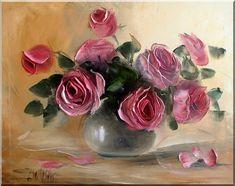 Imágenes Arte Pinturas: Las Rosas y Girasoles en Pinturas ...