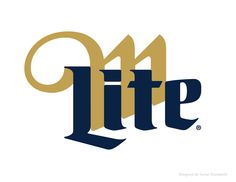 logo / Miller Lite Packaging and Visual Identity. Designed by Turner Duckworth.