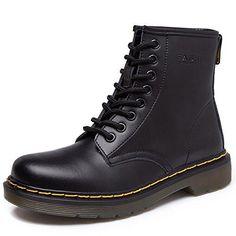 Oferta: 36.99€. Comprar Ofertas de SITAILE Moda Invierno Zapatos Martin Boots Botines Botas de Nieve Botas para Hombre Mujer Fur,negro,41 barato. ¡Mira las ofertas!
