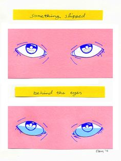 """ebriosity: 6.17.15 - journal""""something slipped behind the eyes""""this week's been construction paper and essay writing."""