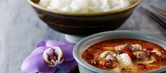 Panangcurry broilerista Thai Recipes, Healthy Recipes, Healthy Food, Some Recipe, Fodmap, Chili, Soup, Curry, Chicken