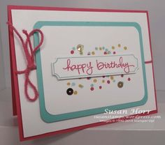 Endless Birthday Wishes, Stampin Up, susanstamps.wordpress.com